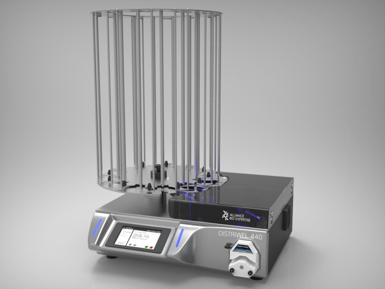 Distriwel - Automate de distribution de milieux de culture en boites de pétri