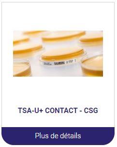 TSA contact milieux de culture en boite alliance bio expertise