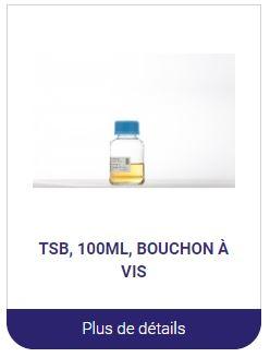 TSB 100Ml milieux de culture en bouteille alliance bio expertise