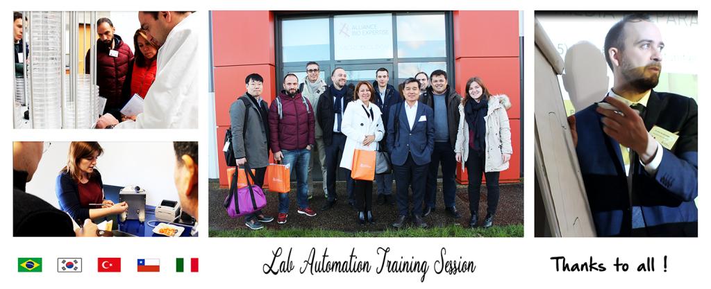 labAutomation training
