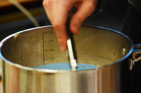 Géloses MSRV casserole