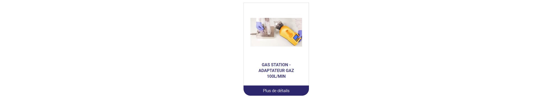 adaptateur gaz biocollecteur ABE